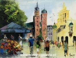 Alfred Anioł - Cracow main square